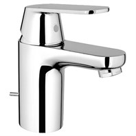 Grohe Eurosmart Cosmopolitan Lavatory Single-hole Faucet S-Size with Pop-up Waste - Starlight Chrome GRO 32875000