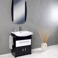 Fresca Distinto Modern Bathroom Vanity with Wenge Wood Finish FVN3021WG