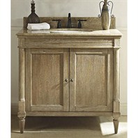 "Fairmont Designs Rustic Chic 36"" Vanity - Weathered Oak 142-V36"