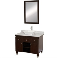 "Premiere 36"" Bathroom Vanity Set by Wyndham Collection - Espresso WC-CG5000-36-ESP-"