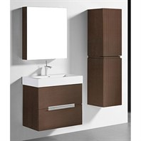 "Madeli Urban 30"" Bathroom Vanity for Integrated Basin - Walnut B300-30-002-WA"