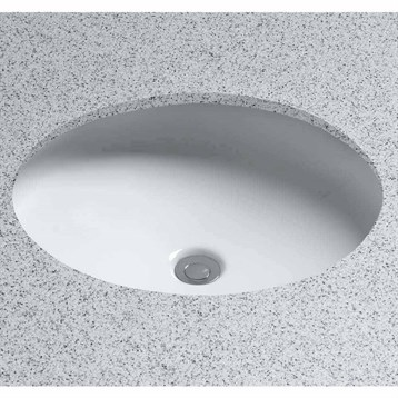 Toto Curva Undercounter Lavatory, Oval LT181 by Toto