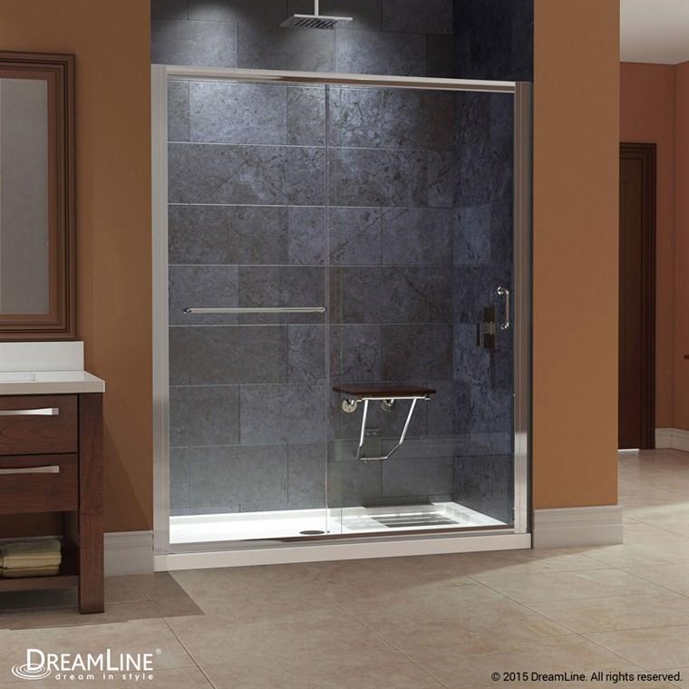 Shop Shower Doors & Enclosures - Glass, Frameless, Sliding - page 6 ...