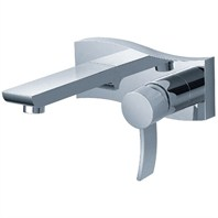 fluid Viola Single Lever Wall Mount Lavatory Tap F12007