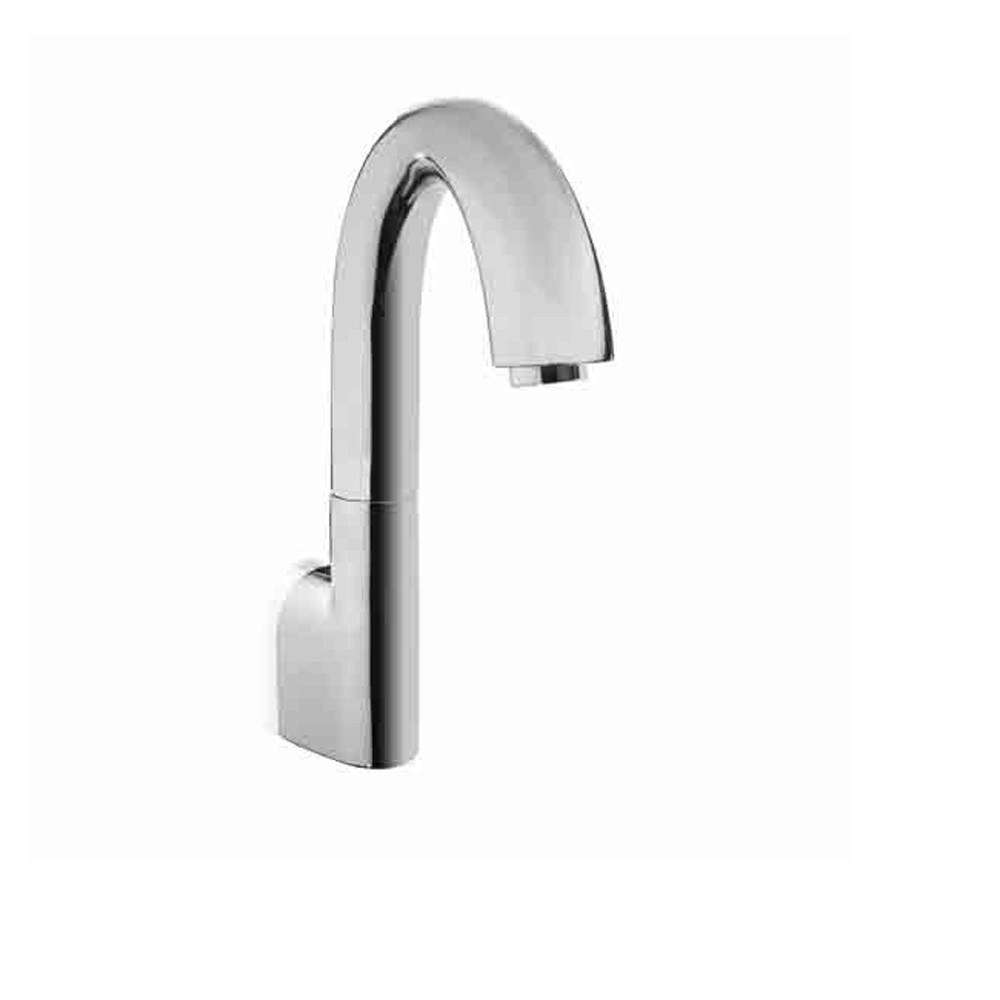 TOTO Gooseneck Wall-Mount EcoPower Faucet with Controller - 1.0 GPM - Polished Chrome - Spout and Controller Only TEL161-D10E.CP