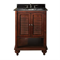 "Avanity Tropica 25"" Bathroom Vanity with Countertop - Antique Brown TROPICA-24-AB"