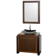 "Hudson 36"" Single Bathroom Vanity - Walnut CGD005-36-WAL*"