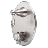 Danze® Fairmont™ Two Handle Thermostatic Shower Trim Kit - Brushed Nickel
