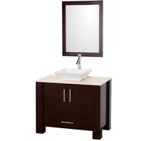 "Milano 36"" Single Bathroom Vanity - Espresso CG3004-36-ESP"