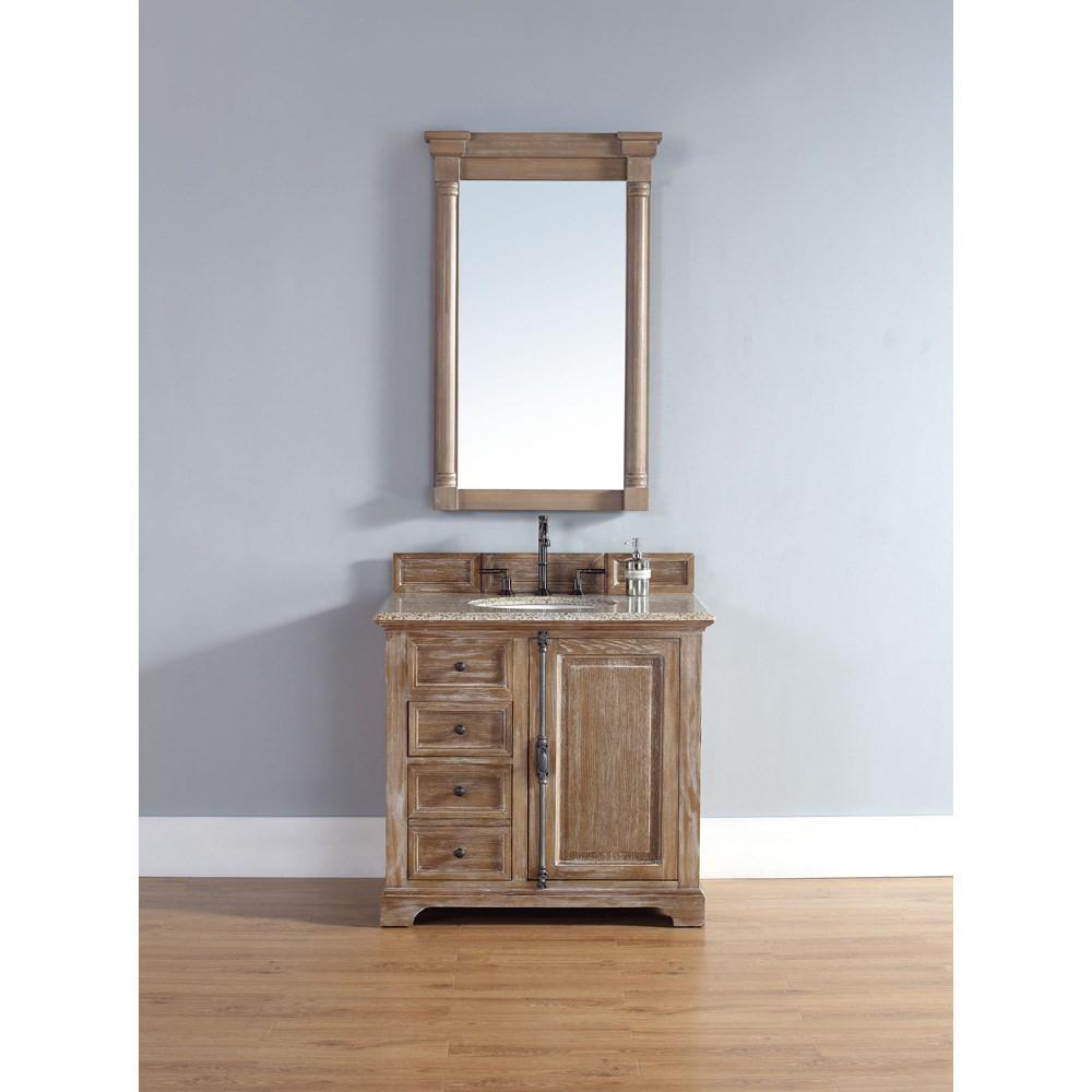 James Martin 36 Providence Single Cabinet Vanity Driftwood Free Shipping Modern Bathroom