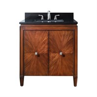"Avanity Brentwood 31"" Bathroom Vanity - New Walnut BRENTWOOD-31-NW"