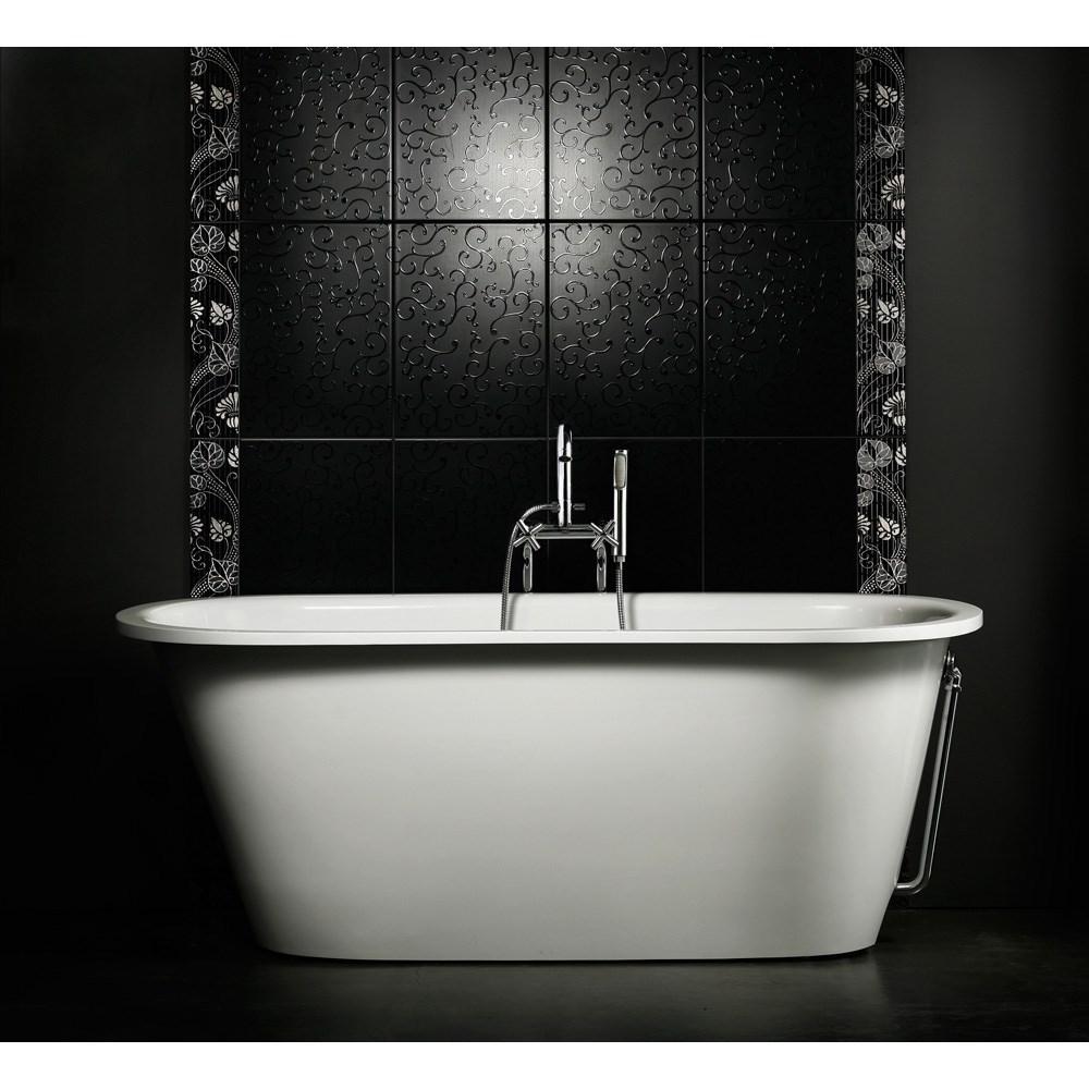 Aquatic Inflection A-F-Wht Freestanding Cast Stone Bathtub - Whitenohtin Sale $2725.50 SKU: Aquatica Infl-A-F-Wht :