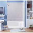 "MTI MTSB-6032Seated Shower Base (59.5"" x 31.25"" x 19.5"")"