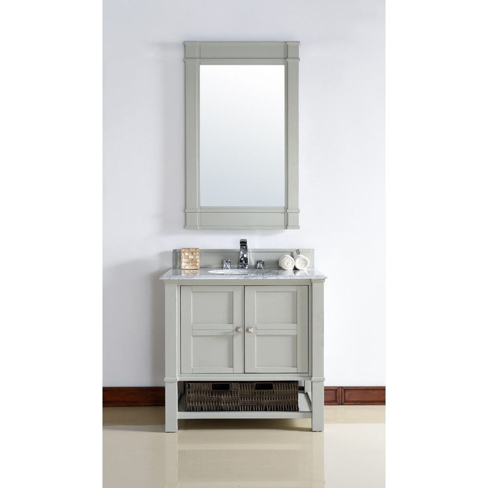 "James Martin 36"" Madison Single Vanity - Dove Graynohtin Sale $850.00 SKU: 800-V36-DVG :"