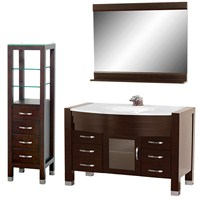 "Daytona 55"" Bathroom Vanity Set - Espresso A-W2109-55-ESP-SET"