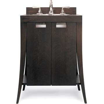 """Cole & Co. 28"""" Designer Series Petite Lily Vanity, Deep Mahogany 11.19.275328.12 by Cole & Co."""