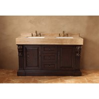 "James Martin 60"" Newport Double Vanity - Dark Cherry 206-001-5514"