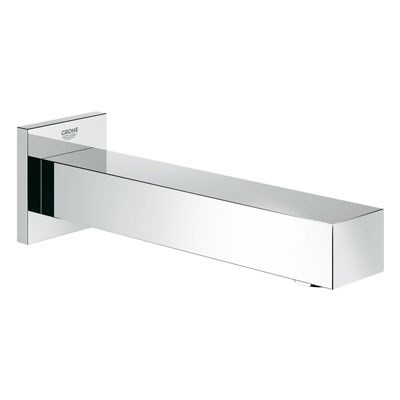 "Grohe Eurocube 6 11/16"" Tub Spout - Starlight Chrome GRO 13305000"