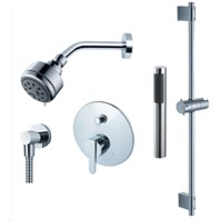 fluid Wisdom - Handheld Shower Trim Set with Slide Bar F2854T