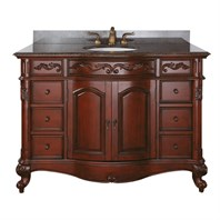 "Avanity Provence 49"" Single Bathroom Vanity - Antique Cherry PROVENCE-48-AC"