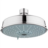 Grohe Rainshower Rustic Shower Head - Sterling Infinity Finish