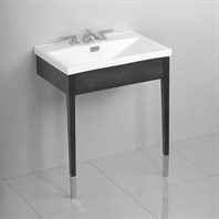 TOTO Lloyd Lavatory with Wood Console LF930WCPN