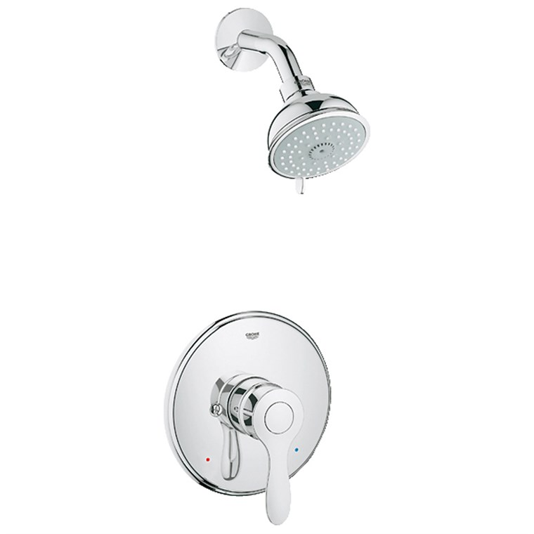 Grohe Parkfield Pressure Balance Valve Shower Combination - Starlight Chrome GRO 35039000