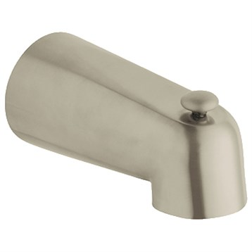 Grohe Classic Wall Mounted Spout with Diverter, Brushed Nickel GRO 13611EN0 by GROHE