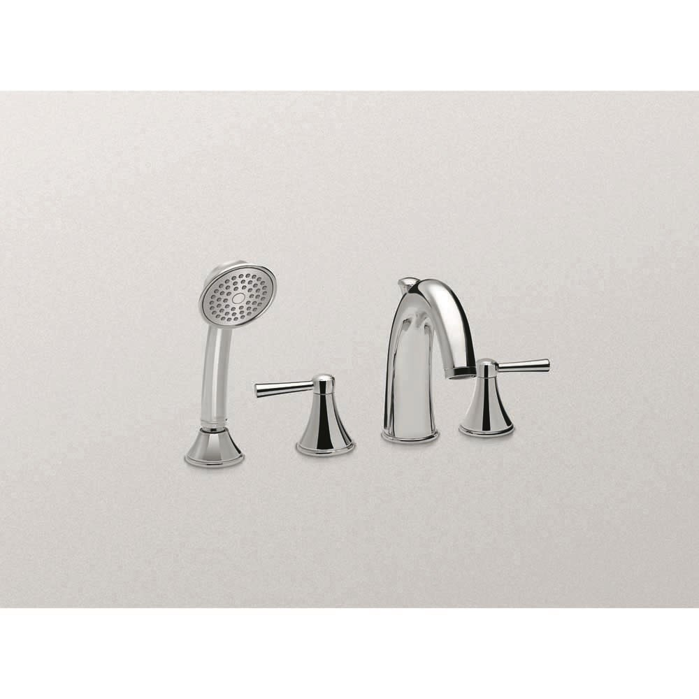 TOTO Silas Deck-Mount Tub Filler Trim with Handshowernohtin Sale $424.80 SKU: TB210S :