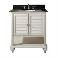 "Avanity Tropica 31"" Bathroom Vanity with Countertop - Antique White TROPICA-30-AW"