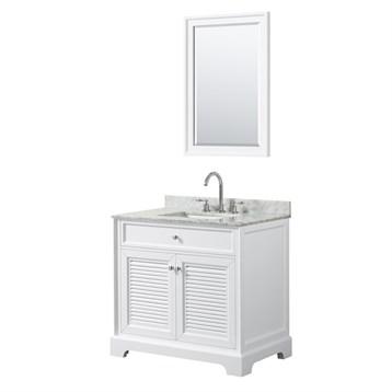 Tamara 36 Single Bathroom Vanity by Wyndham Collection - White