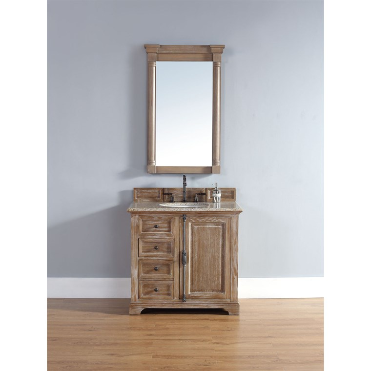 "James Martin 36"" Providence Single Cabinet Vanity - Driftwood 238-105-5511"