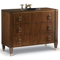 "Cole & Co. 42"" Designer Series Preston Sink Chest - Medium Walnut 11.24.275542.24"