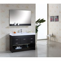 "Virtu USA 48"" Gloria Bathroom Vanity - Espresso MS-575-C-ES"