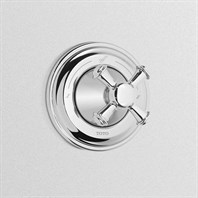 TOTO Vivian Two-Way Diverter Trim with Off - Cross Handle TS220D