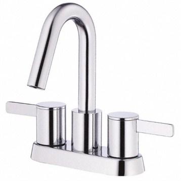 Danze Amalfi Two Handle Centerset Lavatory Faucet, Chrome D301130 by Danze