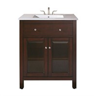 "Avanity Lexington 24"" Vanity Only - Light Espresso LEXINGTON-V24-LE"