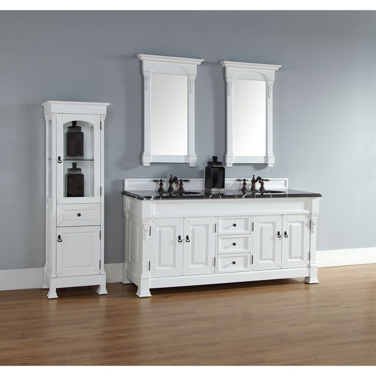 "James Martin 72"" Brookfield Double Cabinet Vanity - Cottage 147-114-5741"