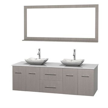 centra 72 quot  double bathroom vanity for vessel sinks by bathroom sink materials comparison bathroom sink materials comparison