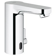 Grohe Eurosmart Cosmopolitan E Electronic Single-Hole Basin Faucet - Starlight Chrome GRO 36328000