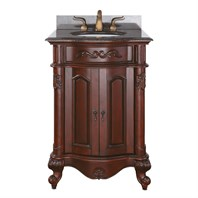 "Avanity Provence 25"" Single Bathroom Vanity - Antique Cherry PROVENCE-24-AC"