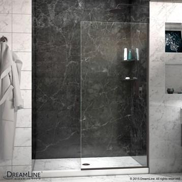 "Bath Authority DreamLine Linea Frameless Shower Door Panel, 30"" x 72"" SHDR-3230721 by Bath Authority DreamLine"
