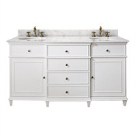 "Avanity Windsor 60"" Vanity Only - White AVA11401-60-WHT-"