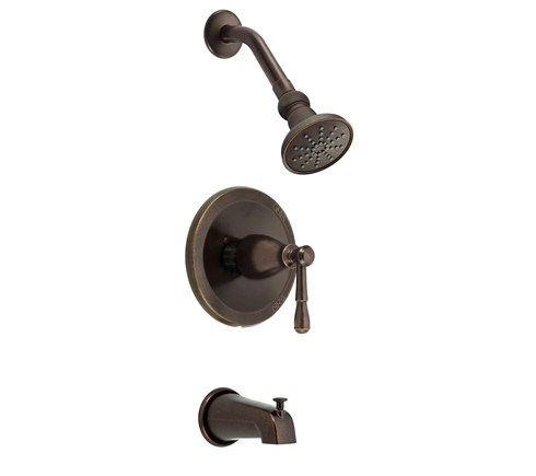 Danze Eastham Trim Only Single Handle Tub & Shower Faucet - Tumbled Bronzenohtin Sale $146.25 SKU: D501015BRT :