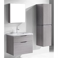 "Madeli Bolano 30"" Bathroom Vanity for Integrated Basin - Ash Grey B100-30-022-AG"