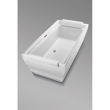 Toto Aimes Free Standing Bathtub, Cotton White ABF626N.01 by Toto