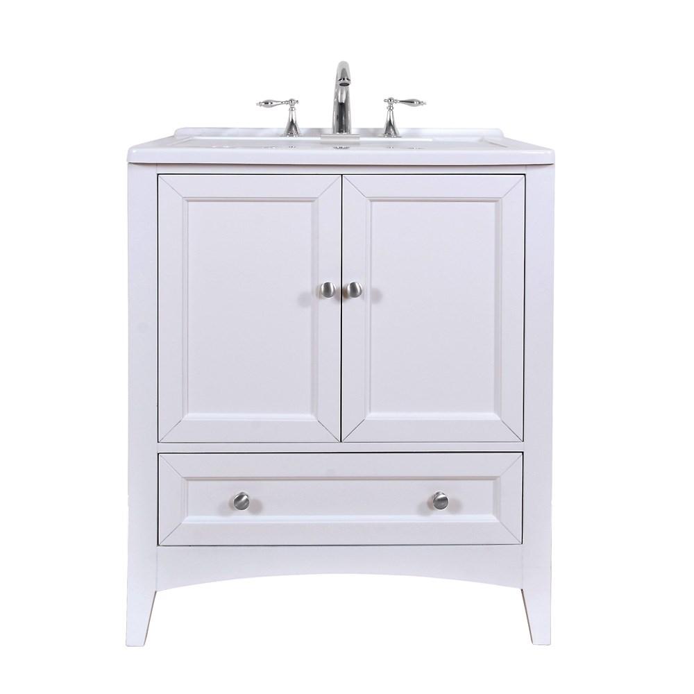 White Utility Sink : ... Stufurhome 30.5