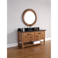 "James Martin 60"" Malibu Single Vanity - Honey Alder 500-V60S-HON"