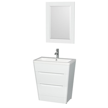 what is best tile for bathroom caprice 30 quot bathroom pedestal vanity set with integrated 25855