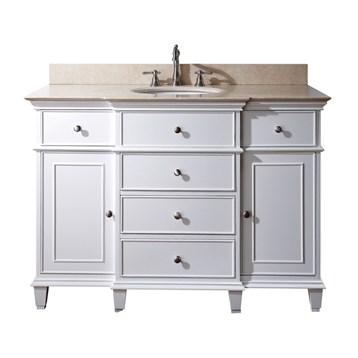 """Avanity Windsor 48"""" Bathroom Vanity, White WINDSOR-48-WT by Avanity"""